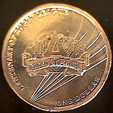 **2008 Australian Centenary of Rugby League $1 coin & flip**