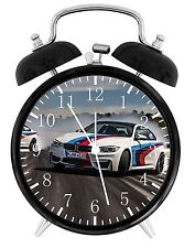 "BMW Race Car Alarm Desk Clock 3.75"" Home or Office Decor E374 Nice For Gift"