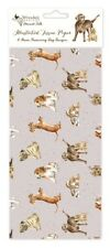 Wrendale Dog Tissue Wrapping Paper - 4 Sheets