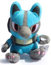 LUCARIO PELUCHE Pokemon - 19Cm. - Plush Mega Riolu Pupazzo X Y Go Sole Luna Toy