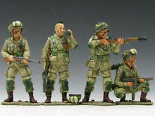 KING AND COUNTRY DD46 DD046 - PARATROOPERS IN ACTION - WWII D-DAY 1:30 SCALE
