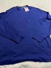 Saddlebred L/S Shirt - Blue - XLT - NWT