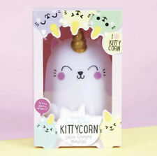Moodlight Kittycorn Magical Colour Changing LED Lamp - Lower Price Damaged Box