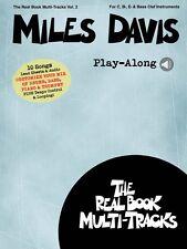 Miles Davis Play-Along Real Book Multi-Tracks Volume 2 Real Book New 000196798