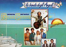 RAOUL CASADEI ORCHESTRA disco LP 33 g. LA BANDA DEGLI ANGELI made in ITALY 1985