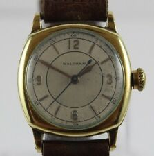 Vintage Waltham Ruby Sweep Second Hand 17 Jewels Men's Watch LOT#117