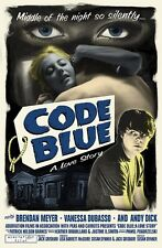 Code Blue MOVIE POSTER Jack Grisham TSOL Rob Kruse Signed #rd Limited Edition