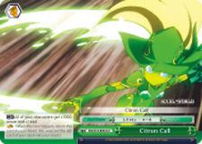 Weiss Schwarz  x 4 Citron Call [AW/S18-E054 CC] English