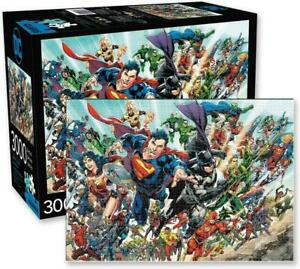 DC Comics Cast 3000 piece jigsaw puzzle 820mm x 1150mm (nm)