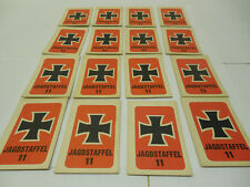 DOGFIGHT GAME PIECE RED CARDS  (American Heritage) MB