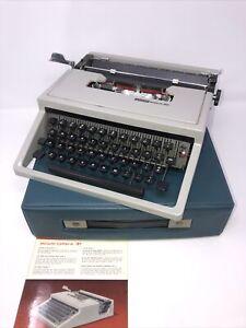 Professionally Serviced 1969 Olivetti Lettera 31 Typewriter