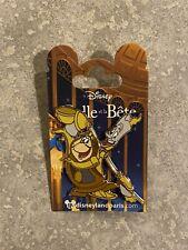 Disney DLP DLRP Disneyland Paris Beauty And The Beast Lumiere Cogsworth Pin