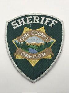 Lane County Oregon Sheriff Dept Should Patch