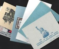 Israel 1980's Limited Edition Stamp Exhibition Booklet Collection