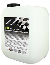 F8 Zementschleier Entferner 1 Liter-Profikonzentrat Betonreiniger Stein Fliesen
