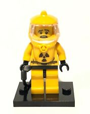 Custom Hazmat Guy With Spray Gun Minifigure Building Blocks