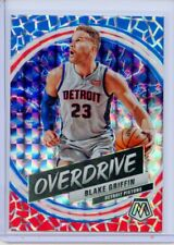 2019-20 Panini Mosaic Blake Griffin Overdrive Prizm SP #13 Detroit Pistons