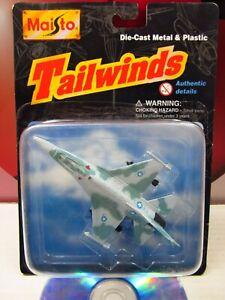 Maisto TAILWINDS 1997 Series 1 AF T1 F-16 Modern Plane Jet Diecast Aircraft Rare