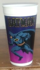 Batman Movie Taco Bell Plastic Purple Collector Cup Pepsi 1989