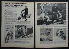 1961 Minibike Guide Mini Bikes Mo-Ped Motor Scooters Autocycle/Trail Goat/Sears+