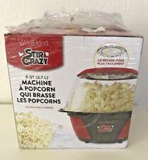 West Bend Stir Crazy Popcorn Popper Machine 82707