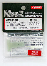 Kyosho Mini Z MZW410M FRP Rear Sus. Plate (Medium /RM /HM /3pcs /MR-03)