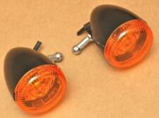 Harley Original Indicator Blinker Indicator Black Turn Signal Softail Dyna