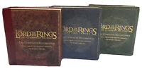The Lord of the Rings Complete Box Set Howard Shore Audio + Blu-Ray Full Set