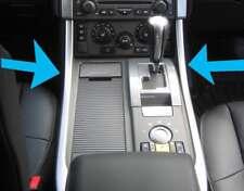 2 x Rhodium Silver Centre Console interior trim Panels Range Rover Sport 2005-20