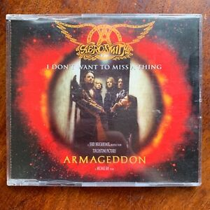 Aerosmith I Don't Want to Miss a Thing CD Single
