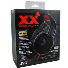 Genuine JVC Xtreme Xplosives On-Ear Stereo Wired Headphones Headset+Remote+Mic