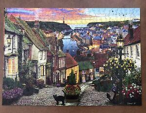 "Stunning 500 Piece Wentworth Wooden Jigsaw Puzzle - ""Sunset Harbour"""