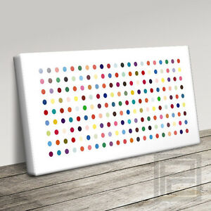 DAMIEN HIRST STYLE POPULAR CONTEMPORARY CANVAS ART PRINT PICTURE Art Williams