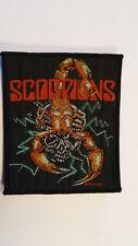 Scorpions 1989 RARE music patch Sew On metal hardrock vintage