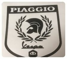 PIAGGIO VESPA TROJAN self adhesive vinyl decal/sticker  scooter decal 8cm x 7cm