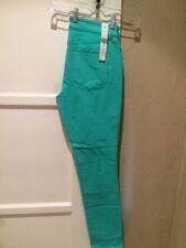 Ann Taylor Curvy Slim Leg Pants Green Size 8 NWT