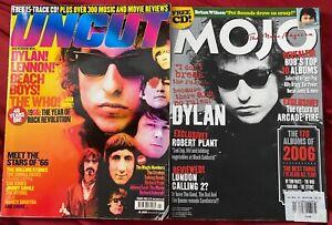 Bob Dylan -MOJO Magazine + UNCUT magazine -  2 issues 2007 2006