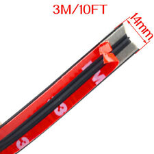 3M/10FT Car Rubber Front Rear Windshield Panel Seal Strip Sealed Moulding Trim