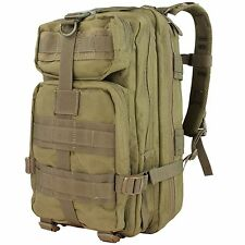 Condor 126 Tan Compact Mission Assault Pack Tactical Military Hiking Backpack
