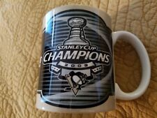 2009 Stanley Cup Champions Pittsburgh Penguins Coffee Tea Cup Mug