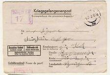15914- Germany, 2° WW, Italian I.M.I. Stalag IX A, 1943
