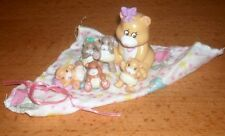 Magic diaper Little Joys Mommy and 5 babies full set 1992 galoob rare (d)