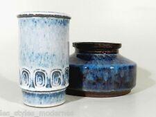 Bornholm Denmark CERAMICA VASO ° etichetta + firme ° vaso in ceramica