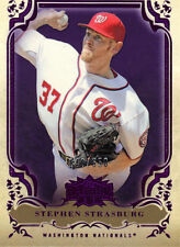"2013  TOPPS    ""TRIPLE THREADS""   AMETHYST  #13  STEPHEN STRASBURG  140/650"