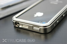 XTRUCASE Aluminum DUO Slider Case for Apple iPhone 4/4S in 7 Different Colors