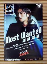NICHOLAS TSE Most Wanted Promo Poster [1st] *RARE Vintage 2000 Hong Kong 謝霆鋒 *海報