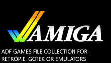 Commodore Amiga ADF Disk Game Images 20,000 For Gotek Drive RetroPI PC Emulators