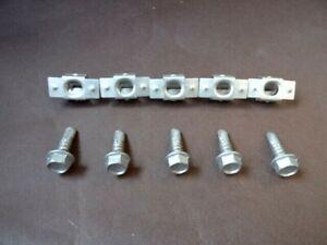 MINI METAL ENGINE UNDERTRAY SPLASHGUARD FASTENERS SHIELD BOLTS & CLASPS
