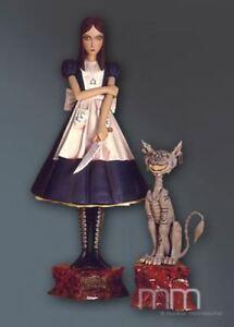 Muckle Oxmox Life Size Figur Grinsekatze Alice Mc Gee Katze Cat Lebensgroß Neu
