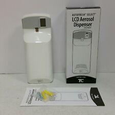Tc Autofresh Select Lcd Meter Mist 3000 Lcd Aerosol Wall Fragrance Dispenser Zep